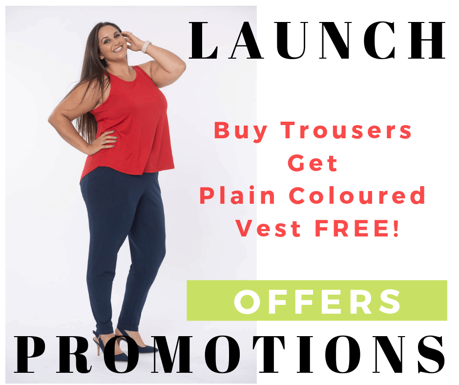 Comfy Fit Clothing Launch Offer